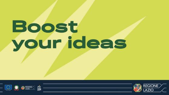 Iscriviti all'evento Orientiamo Boost Your Ideas